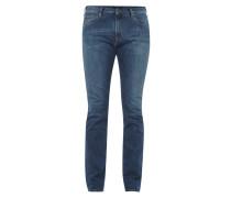 Slim Fit Stone Washed 5-Pocket-Jeans