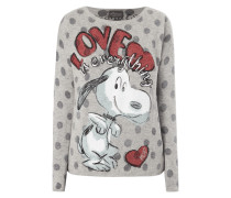 Pullover mit Snoopy-Print