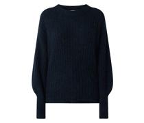 Pullover mit überschnittenen Schultern Modell 'Alpia'