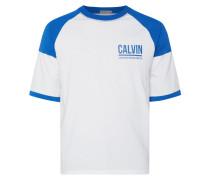Shirt mit Kontrasteinsätzen