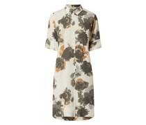 Hemdblusenkleid aus Viskose