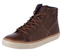 High Top Sneaker aus Leder