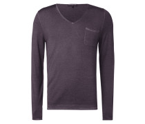 Pullover mit Washed Out-Effekten
