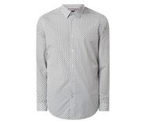 Regular Fit Freizeithemd aus Baumwolle Modell 'Lukas'