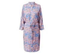Blusenkleid mit floralem Muster Modell 'Zaplin'