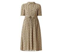 Blusenkleid aus Viskose Modell 'Vicco'