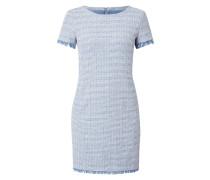 Kleid aus Bouclé mit Effektgarn