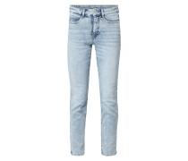 Bleached Skinny Fit 5-Pocket-Jeans
