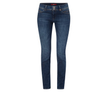 Stone Washed Shape Slim Fit Jeans