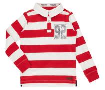 Rugby-Shirt mit Aufnäher