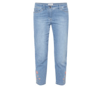 Modern Fit Jeans mit Stickereien