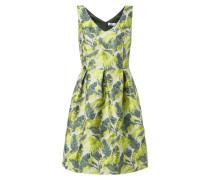 Kleid mit floralem Jacquardmuster