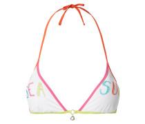 Bikini-Oberteil in Triangel-Form Modell 'Reao' - wattiert