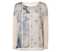 Shirt mit Print und Sternendetails