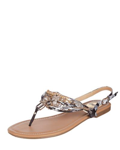 Sandalen mit Zierperlen