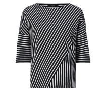 Boxy Fit Shirt mit überschnittenen Schultern
