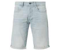 Jeansbermudas im Used Look