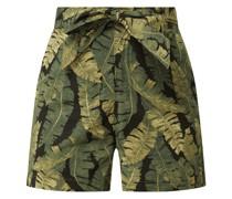 Shorts mit floralem Muster Modell 'Fana'