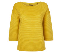 Boxy Fit Pullover im Rippenstrick