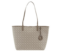 Shopper mit Logo-Muster Modell 'Collins'
