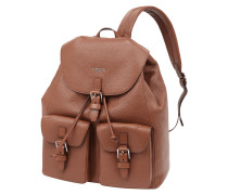 Rucksack aus echtem Leder