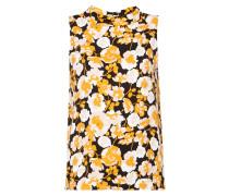 Blusentop mit floralem Muster