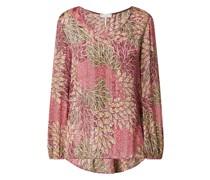 Blusenshirt mit Allover-Muster Modell 'Cihatso'