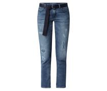 Straight Fit Jeans mit Stretch-Anteil Modell 'Karen'