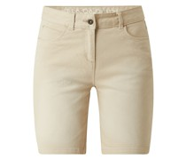 Jeansshorts mit Stretch-Anteil Modell 'Nulley'