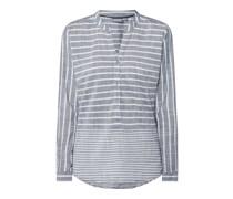 Blusenshirt mit Streifenmuster Modell 'Elais'