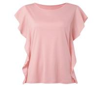 Shirt mit seitlichem Kontraststoff