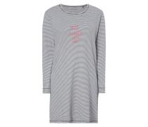 Sleepshirt mit Streifenmuster