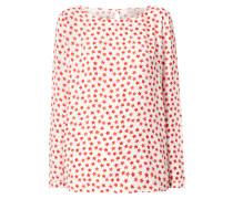 Blusenshirt aus Viskosekrepp
