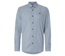 Fitted Freizeithemd mit Button-Down-Kragen