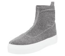 Sock Sneaker mit Glitter-Effekt