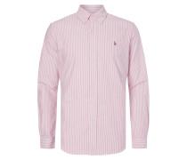 Slim Fit Freizeithemd mit Streifen-Dessin