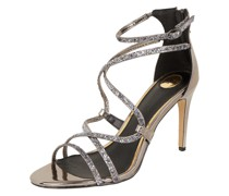 Sandalette in Metallic-Optik Modell 'Mercy'