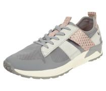 Sneaker mit Kontrasteinsatz aus Mesh