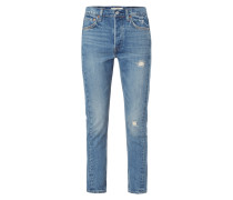 501 SKINNY ALTERED - Skinny Fit Jeans im Used Look