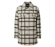 Oversized Jacke aus Flanell Modell 'Calakerry'