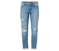 Cigarette Fit Jeans im Destroyed Look