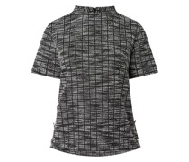 Shirt in Melange-Optik