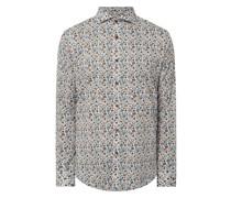 Regular Fit Freizeithemd aus Baumwolle Modell 'Trostol'