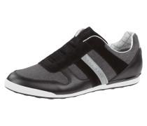 Slip-On Sneaker aus Leder mit Zierstreifen