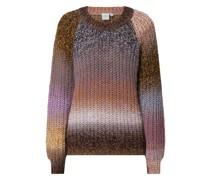 Pullover aus Mouliné Modell 'Kallya'