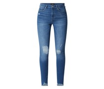 Skinny Fit High Rise Jeans mit Stretch-Anteil Modell 'Sophia'