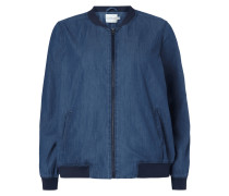 PLUS SIZE - Bomber in Denimoptik