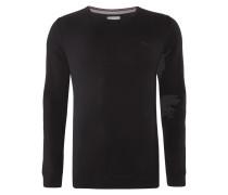 Pullover aus Baumwolle mit Rundhalsausschnitt