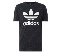T-Shirt mit grafischem Muster
