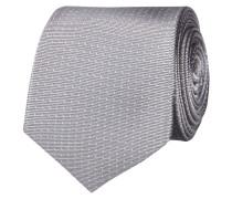 Krawatte aus Seide mit Tupfenmuster